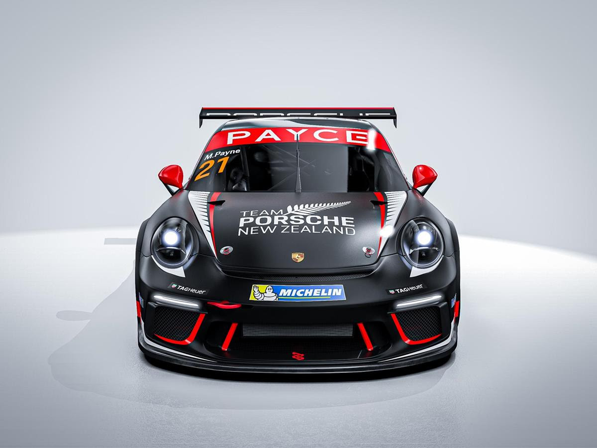 Team Porsche New Zealand announces scholarship for Porsche PAYCE Carrera Cup Australia